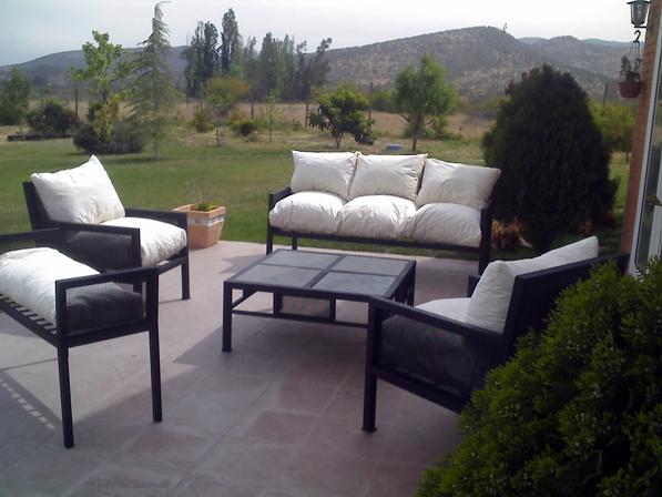 10 for Muebles terraza fierro