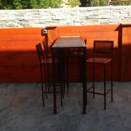 Muebles de bar archivos for Muebles terraza fierro