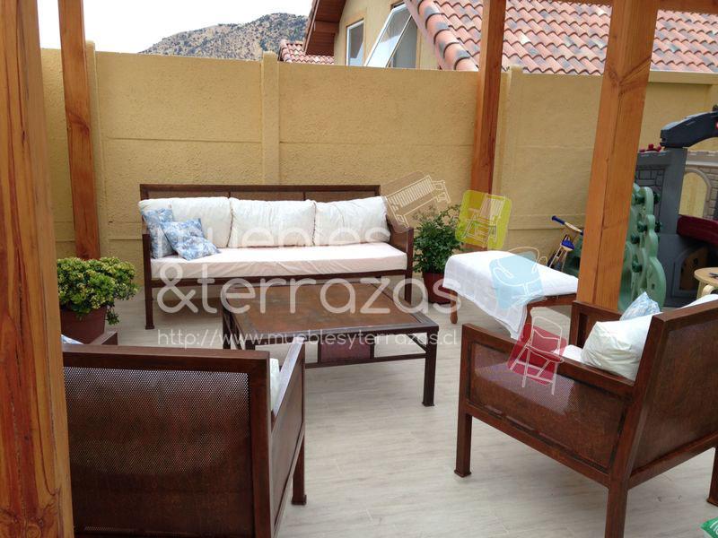 Living de terraza cuadrado 3 cuerpos, $470.000 + iva – http://www ...